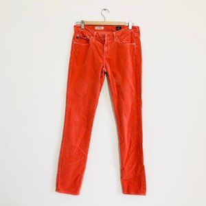 AG Adriano Goldschmied coral skinny jean